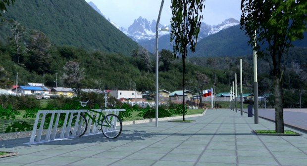 Plaza Puerto Williams