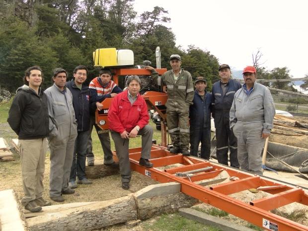 """Cooperativa de leñadores """"Amigos del Bosque"""""""