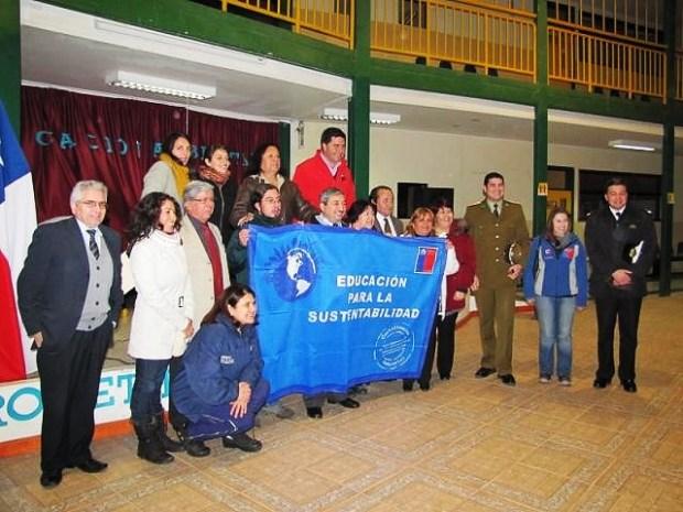 Certificación Ambiental liceo de Puerto Williams