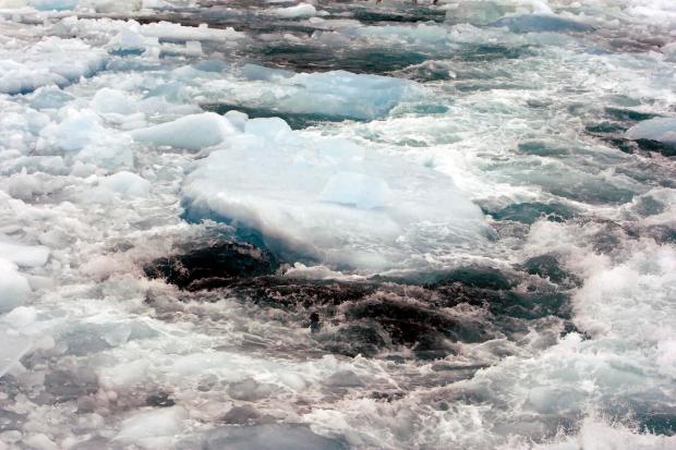View of Polar Ice Rim