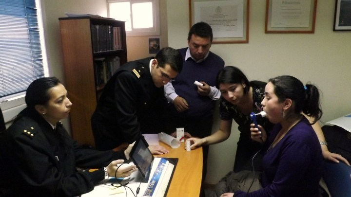 Operativo Médico en Puerto Williams.