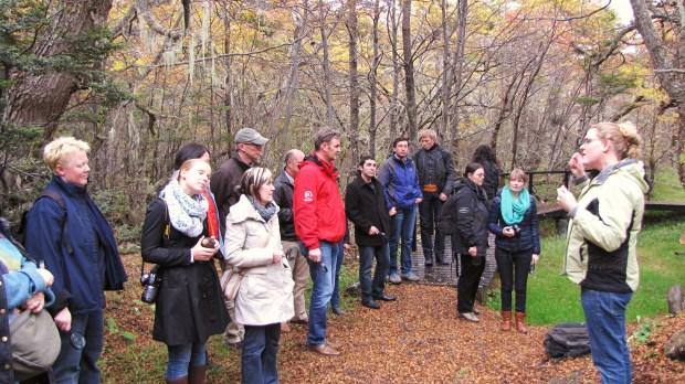 Visitas de IAATO y de Harold Goodwin al Parque Omora
