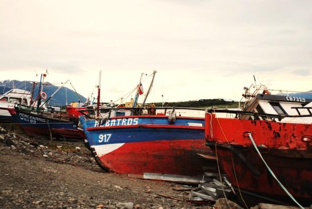 Pesca artesanal. Prensa Antártica