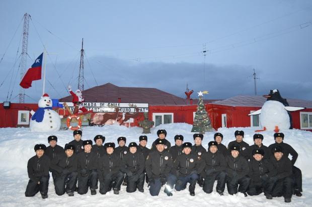 Navidad Base Antártica Arturo Prat