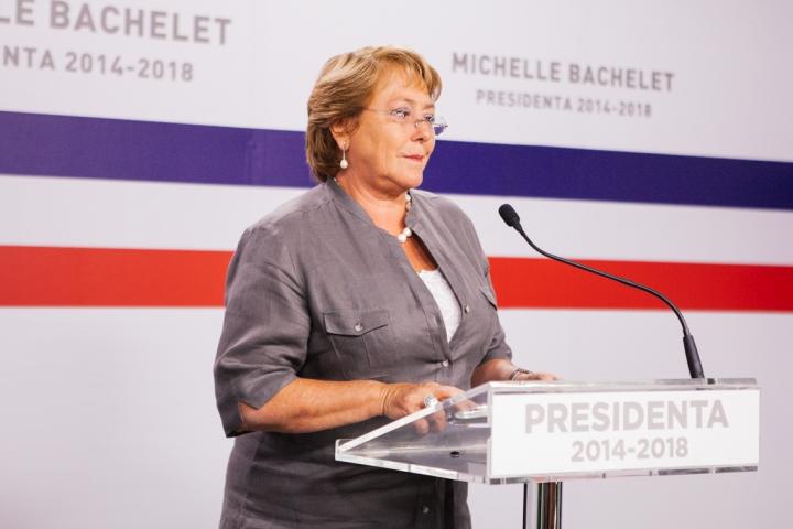 Presidenta electa Michelle Bachelet
