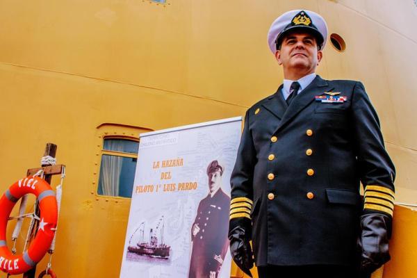 Homenaje Piloto Pardo. luisa Villablanca
