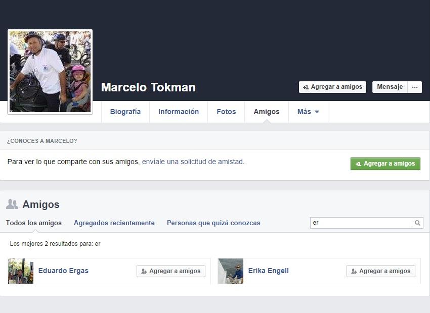 Facebook Marcelo Tokman