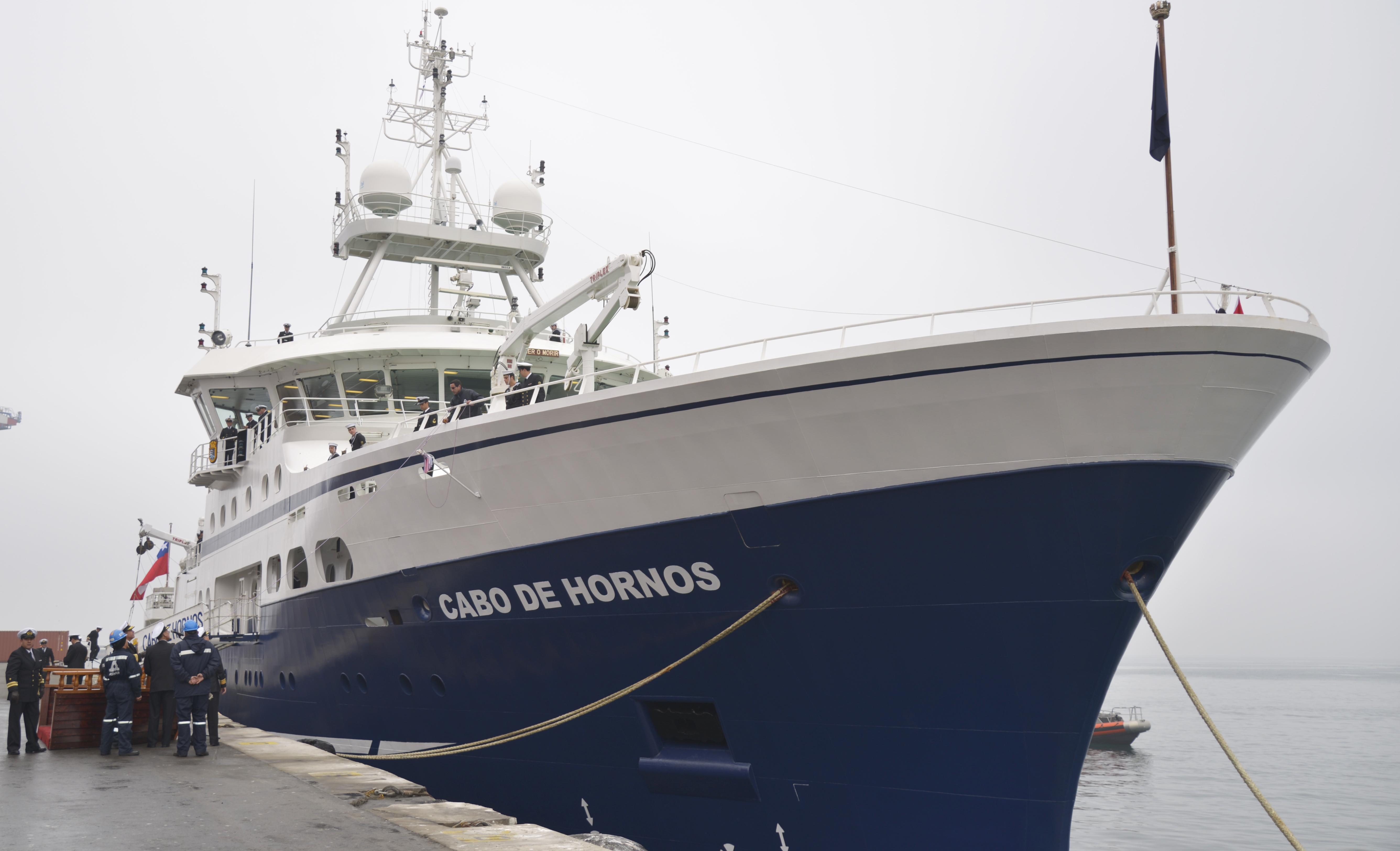 Cabo de Hornos. Armada deChile