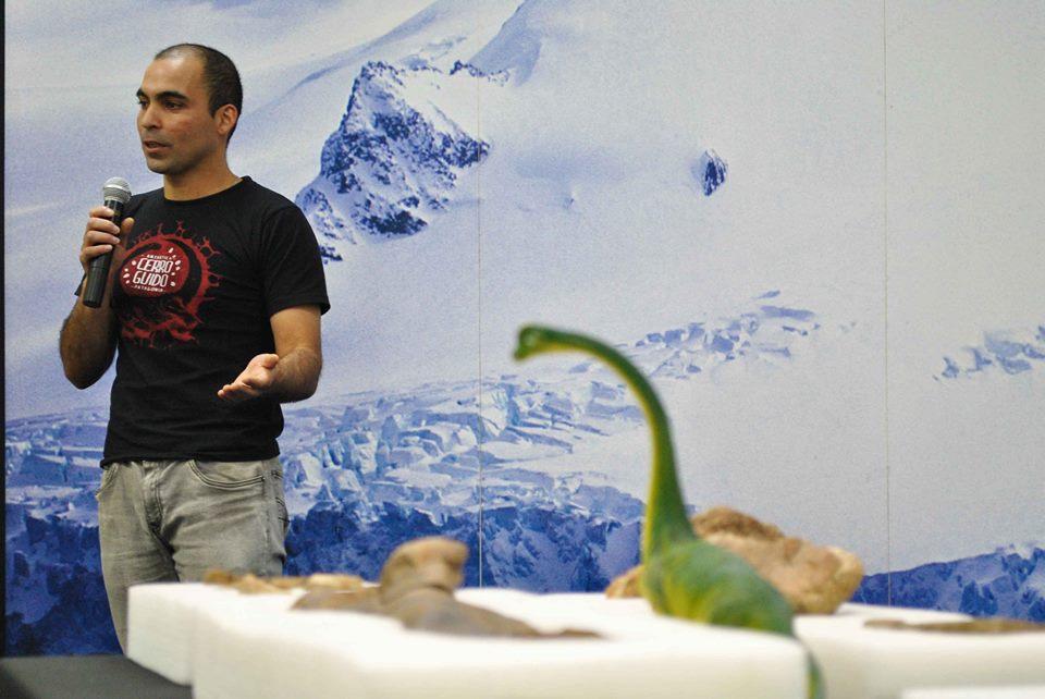 Expedición paleontológica. LuisaVillablanca