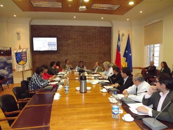 Sesión plenaria Consejo Regional de Magallanes.