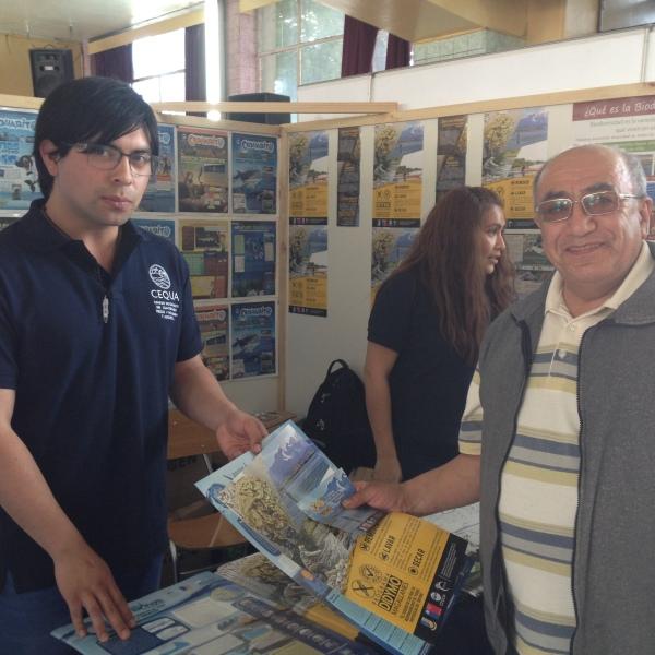 Stand Cequa Expo Magallanes
