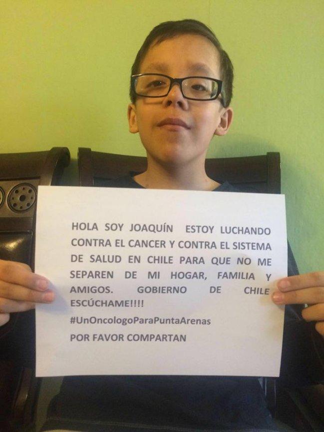 Joaquín #UnOncologoParaMagallanes