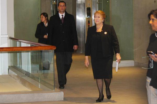 Presidenta Michelle Bachelet. Fotografía Luisa Villablanca