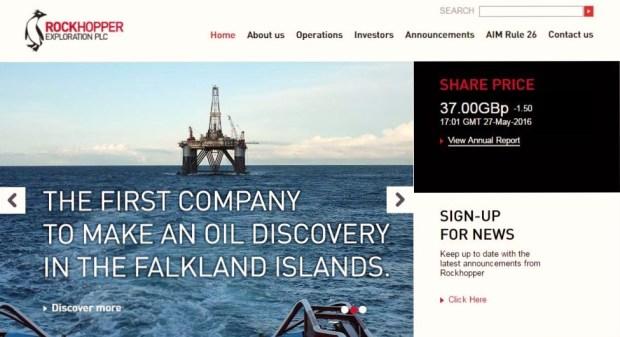 petróleo malvinas