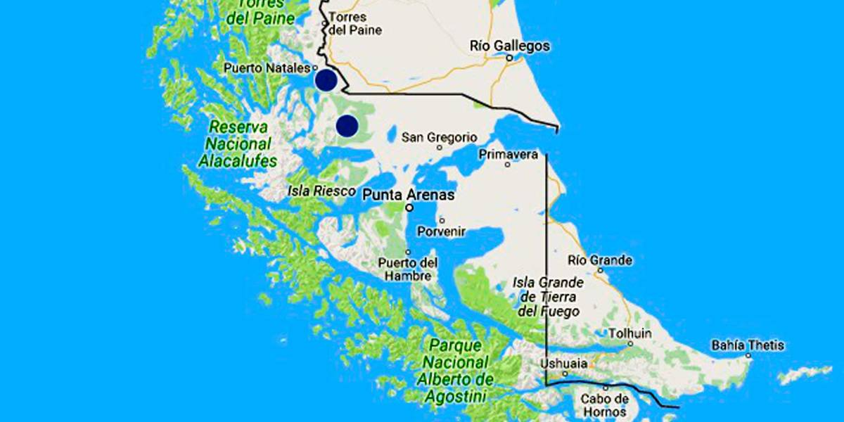 Dos proyectos en Magallanes figuran en mapa de conflictos socioambientales del INDH