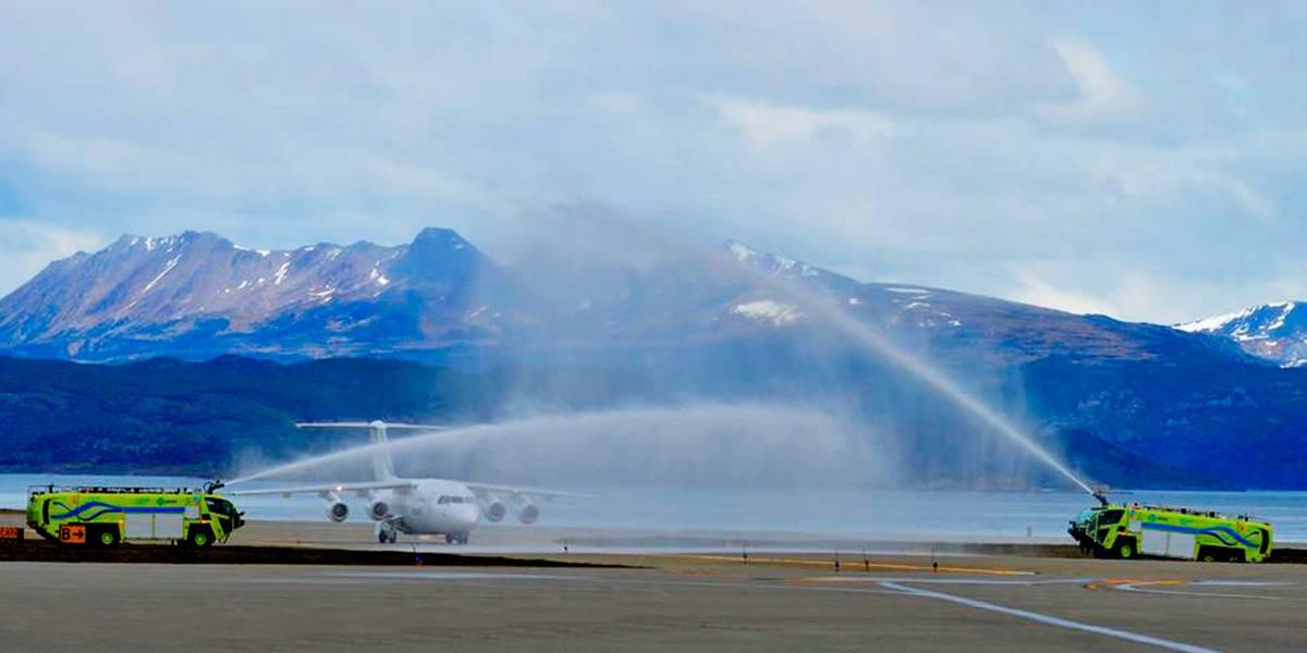 Punta Arenas-Ushuaia en menos de una hora: DAP realiza vuelo inaugural uniendo la Patagonia