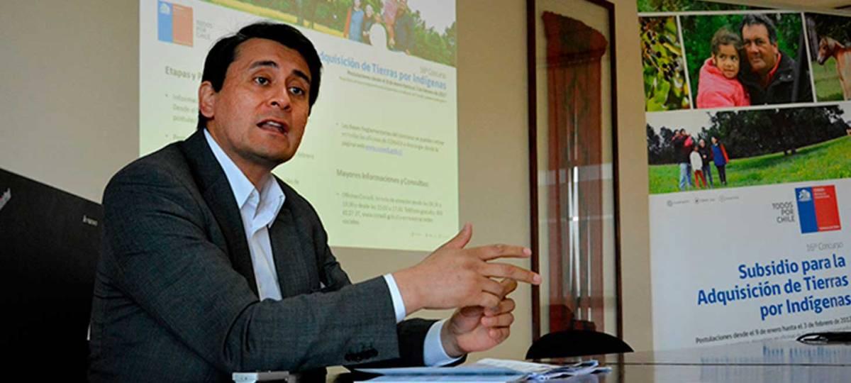 Con un monto $20 mil millones CONADI abre postulaciones al subsidio para la adquisición de tierras por indígenas