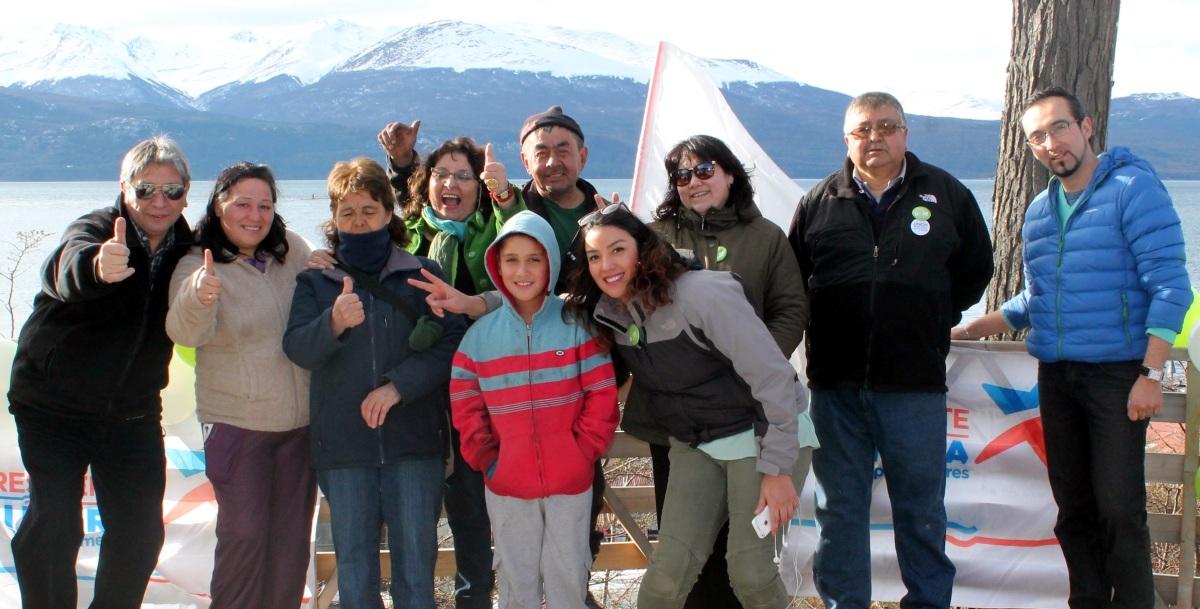 En Puerto Williams Sandra Amar lanza candidatura a diputada con mensaje de apoyo a zonas extremas