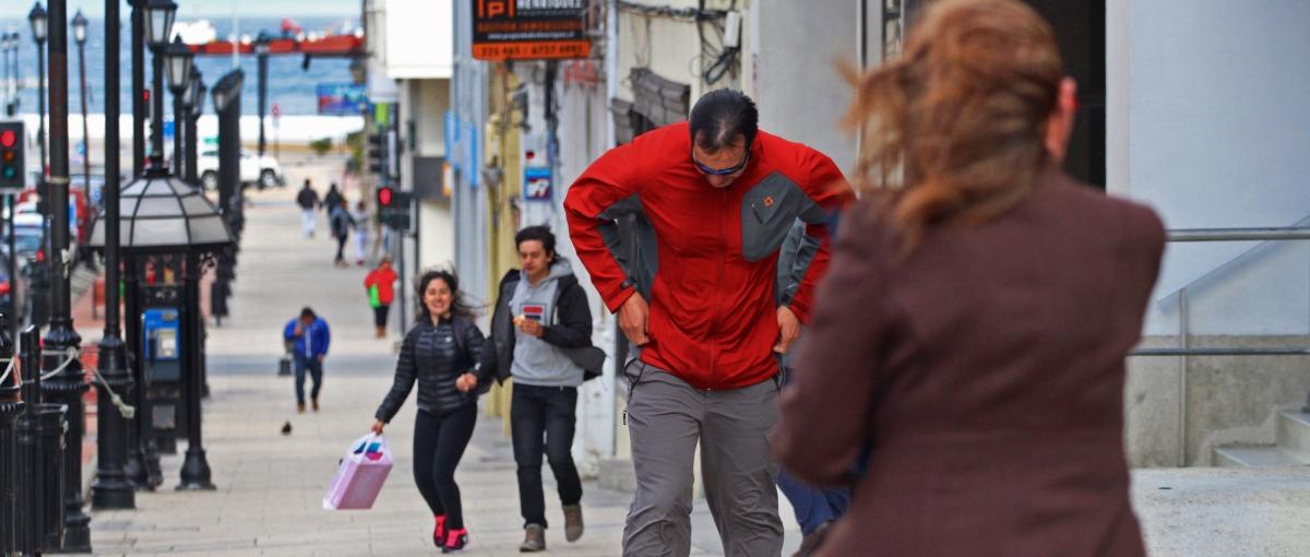 Onemi declara Alerta Temprana Preventiva por viento y lluvia en Magallanes