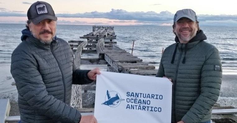 Javier Bardem está en la Antártida para pedir protección del océano