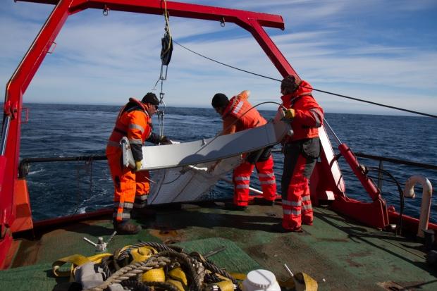 Monitoreo en la Antártica