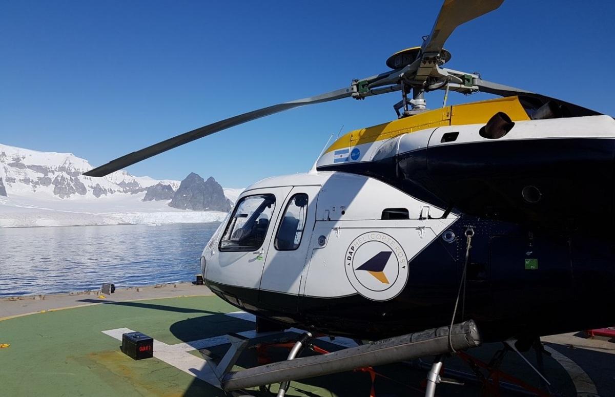 DAP Helicópteros suma nueva base para excursiones, rescates y evacuaciones médicas en Santa Cruz